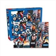 Marvel – Captain America Timeline 1000pc Puzzle | Merchandise