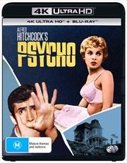 Psycho | Blu-ray + UHD | UHD