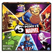 5 Minute Marvel Strategy Board Game | Merchandise