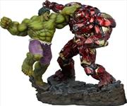 Marvel Comics - Hulk vs Hulkbuster Maquette | Merchandise