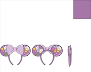 Loungefly - Mickey Mouse - Minnie Embroidered Flowers Headband | Merchandise