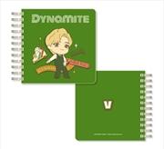 BTS Tinytan - Dynamite Spiral Notebook - V | Notebook