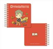 BTS Tinytan - Dynamite Spiral Notebook - RM | Notebook