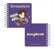 BTS Tinytan - Dynamite Spiral Notebook - Jungkook | Notebook