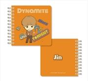 BTS Tinytan - Dynamite Spiral Notebook - Jin | Notebook