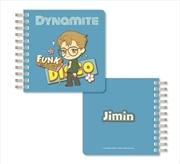 BTS Tinytan - Dynamite Spiral Notebook - Jimin | Notebook
