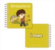 BTS Tinytan - Dynamite Spiral Notebook - J Hope | Notebook