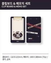 Stray Kids - Skz X - 1st Lovestay Clip Board And Memo Set | Merchandise