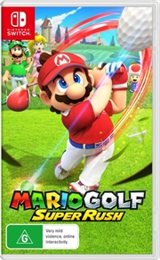 Mario Golf Super Rush | Nintendo Switch