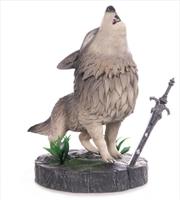 Dark Souls - The Great Grey Wolf Sif PVC Statue | Merchandise