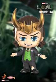 Loki - President Loki Cosbaby with Patch | Merchandise