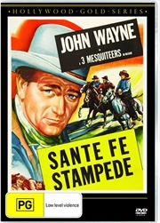 Santa Fe Stampede | Hollywood Gold | DVD