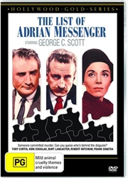 List Of Adrian Messenger | Hollywood Gold, The | DVD