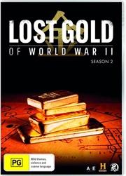 Lost Gold Of World War II - Season 2   DVD