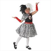 Cruella De Vil Dlx - Size 3-4 | Apparel