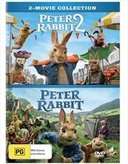 Peter Rabbit / Peter Rabbit 2 - The Runaway | 2 Movie Franchise Pack | DVD