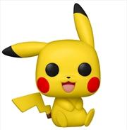 Pokemon - Pikachu Sitting Pop! Vinyl [RS] | Pop Vinyl