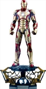Iron Man 3 - Iron Man Mark XLII Deluxe 1:4 Scale Action Figure   Merchandise