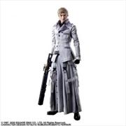 Final Fantasy VII - Rufus Shinra Play Arts Action Figure | Merchandise