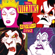 Disney Villains Official 2022 Square Calendar | Merchandise
