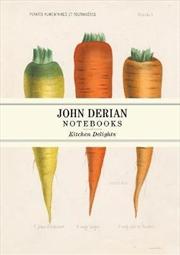 John Derian Paper Goods: Kitchen Delights Notebooks | Notebook
