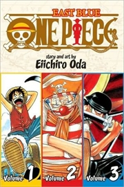 One Piece: East Blue 1-2-3   Paperback Book