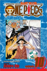 One Piece, Vol. 10: OK, Let's Stand Up!   Paperback Book