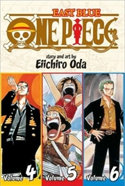 One Piece: East Blue 4-5-6   Paperback Book