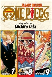 One Piece: East Blue 7-8-9   Paperback Book