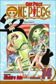 One Piece, Vol. 14: Instinct   Paperback Book