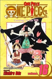 One Piece, Vol. 16: Carrying on His Will (One Piece Graphic Novel)   Paperback Book