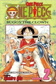 One Piece, Vol. 2: Buggy the Clown   Paperback Book