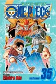 One Piece, Vol. 35 (35)   Paperback Book