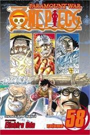 One Piece, Vol. 58 (58)   Paperback Book