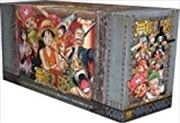 One Piece Box Set 3: Thriller Bark to New World: Volumes 47-70 with Premium (3) (One Piece Box Sets) | Paperback Book