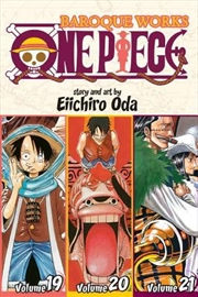 One Piece: Baroque Works 19-20-21 | Paperback Book