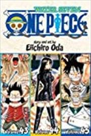 One Piece (Omnibus Edition), Vol. 15: Includes vols. 43, 44 & 45 (15) | Paperback Book