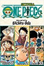 One Piece (Omnibus Edition), Vol. 11: Includes vols. 31, 32 & 33 (11) | Paperback Book