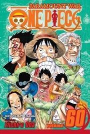 One Piece, Vol. 60 (60)   Paperback Book