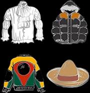 Seinfeld - Clothing Enamel Pin 4-pack | Merchandise