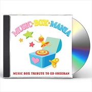 Tribute To Ed Sheeran | CD