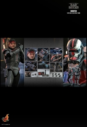 """Star Wars: The Bad Batch - Hunter 1:6 Scale 12"""" Action Figure 