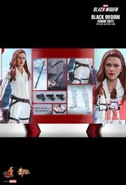 "Black Widow - Black Widow (Snow Suit) 1:6 Scale 12"" Action Figure   Merchandise"