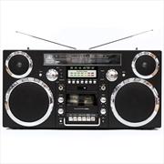 Boombox Black Bluetooth Speaker   Hardware Electrical