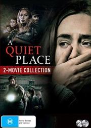 A Quiet Place / A Quiet Place II | 2 Movie Franchise Pack | DVD