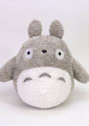 Studio Ghibli Plush: My Neighbor Totoro - Fluffy Big Totoro (L) | Toy