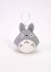 Studio Ghibli Clip-On Plush: My Neighbor Totoro - Totoro Grey | Toy