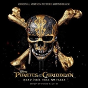 Pirates Of The Caribbean: Dead Men Tell No Tales   CD