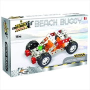 Construct It! - Beach Buggy 119-Piece Metal Building Set | Toy