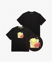 BTS MELTING - T-Shirt Black - Large | Apparel